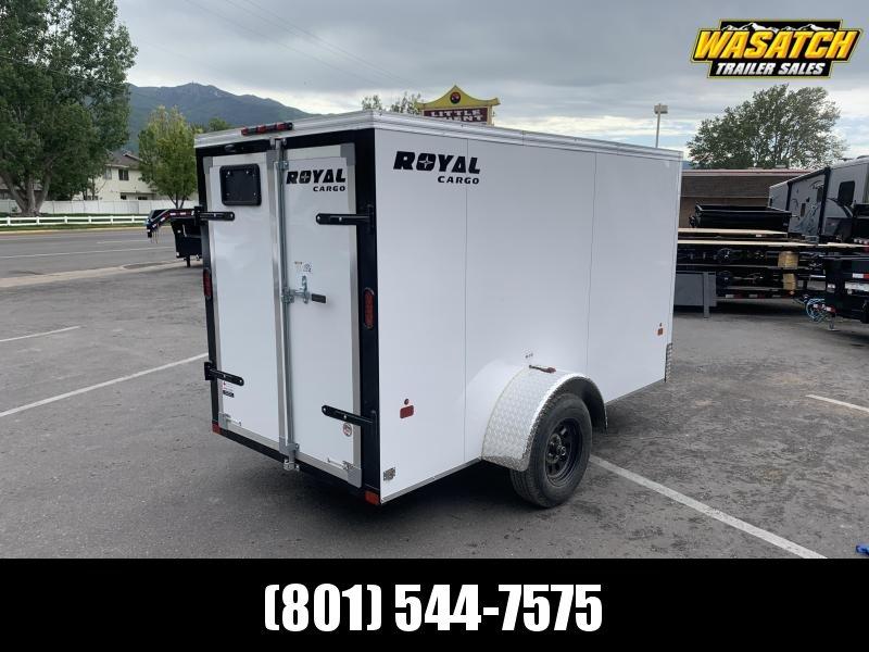 Royal Cargo 5x10 Single Axle Enclosed Cargo w/ Barn Doors