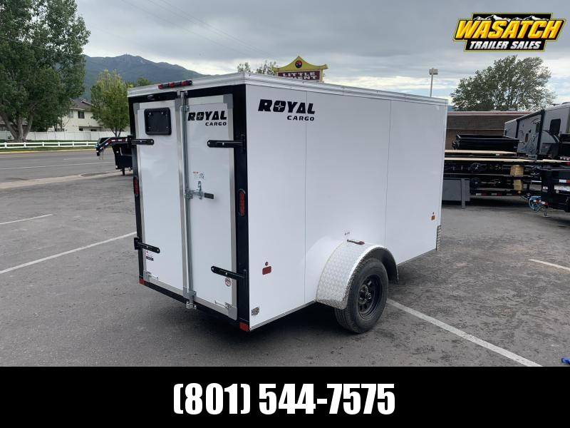 Royal Cargo 5x10 Single Axle Enclosed Cargo w/ Barn Doors