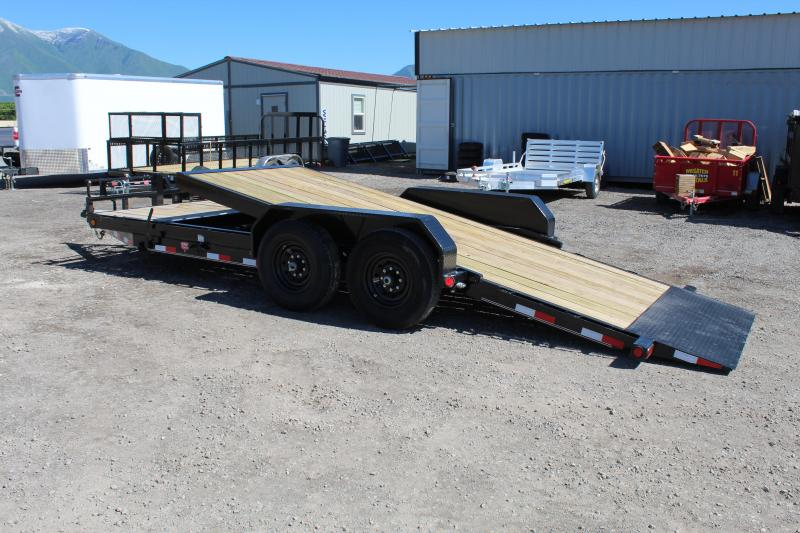 ***PJ Trailers 7x20 Channel Tilt (T6) Equipment Trailer***