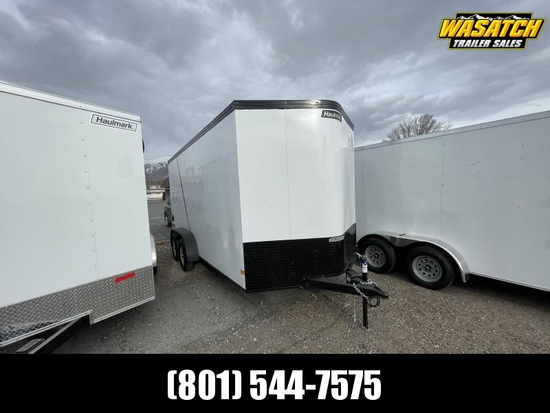 Haulmark 7x16 Transport Enclosed Cargo w/ Black Trim