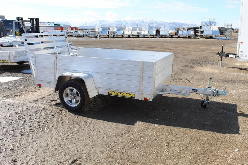 Aluma 638 Aluminum Enclosed Utility Trailer