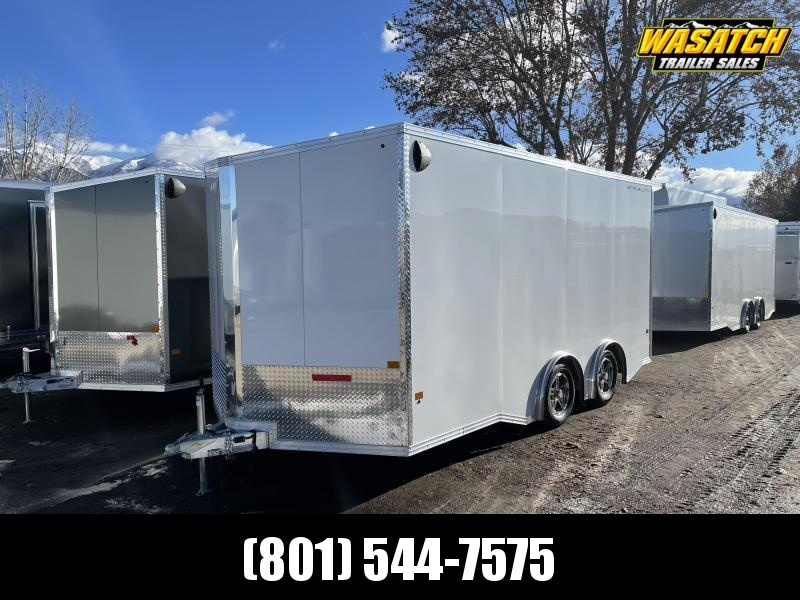 Alcom-Stealth 8.5x16 Aluminum Enclosed Cargo