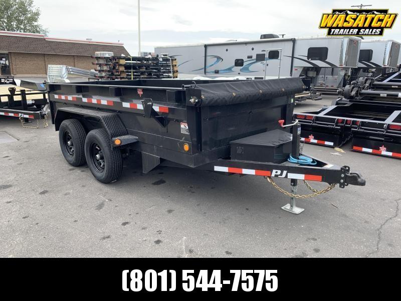 2021 PJ Trailers 6x12 Tandem Axle Dump (D3) Dump Trailer