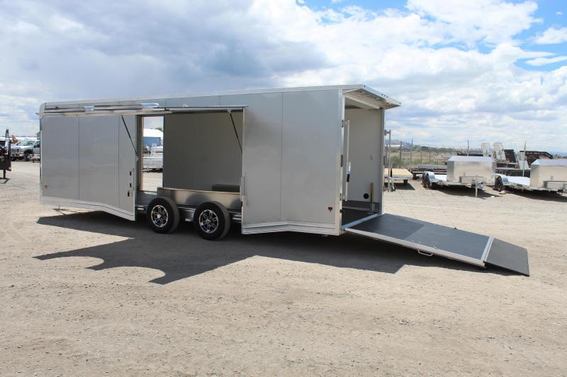EZ Hauler 85x24 Aluminum Car / Racing Trailer