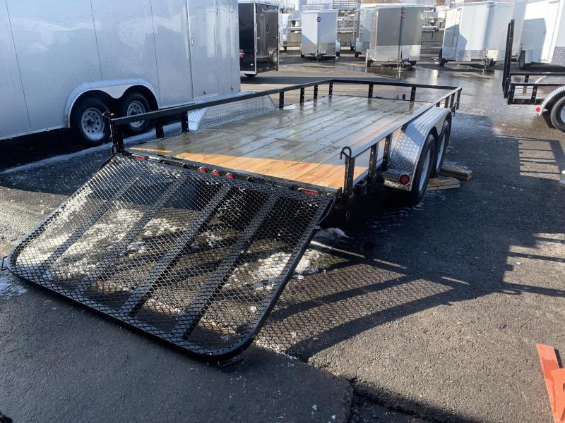 ***PJ 7x18 Tandem Axle Channel (UL) Utility Trailer***