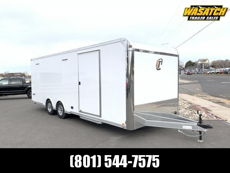 inTech 24' Lite Aluminum Car / Racing Trailer