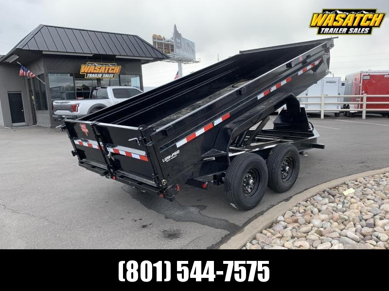 2021 PJ Trailers 7x14 Low Dump PRO (DL) Dump Trailer