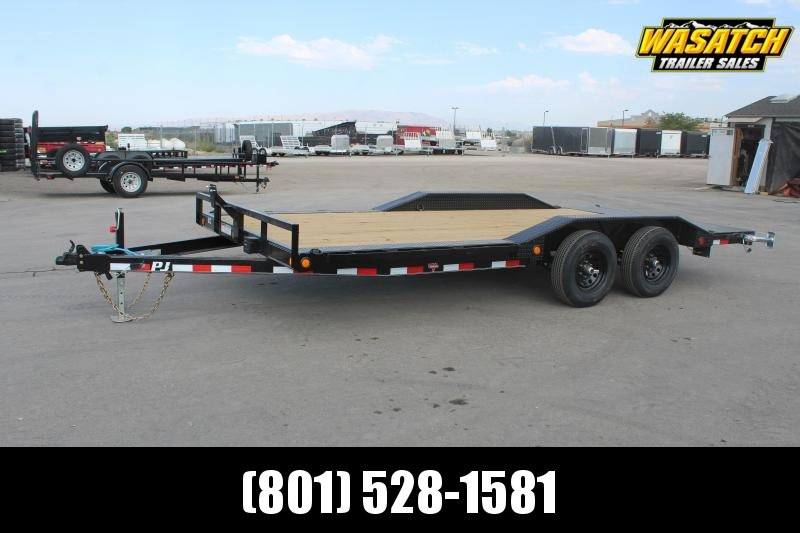 "PJ Trailers 85x18 5"" Channel Buggy Hauler (B5) Equipment Trailer"