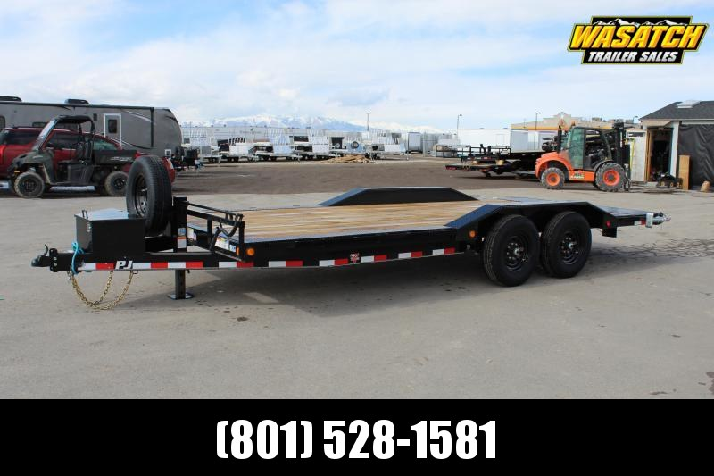 "PJ Trailers 8.5x20 6"" Channel Super-Wide (B6) Buggy Hauler"