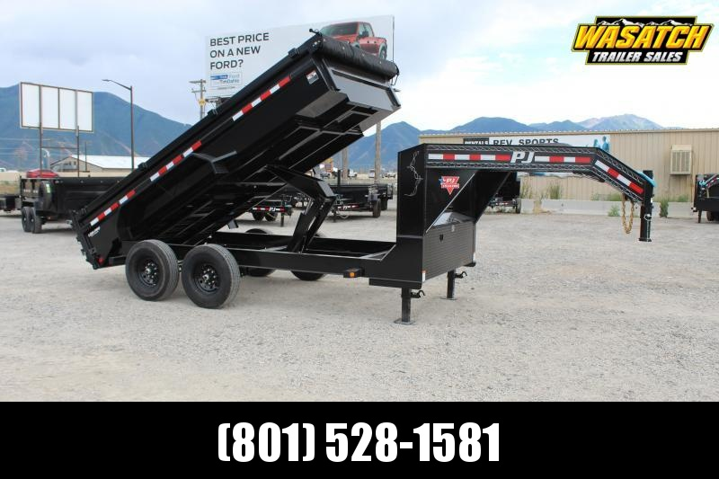 PJ Trailers 7x14 Low-Pro (DL) Dump Trailer