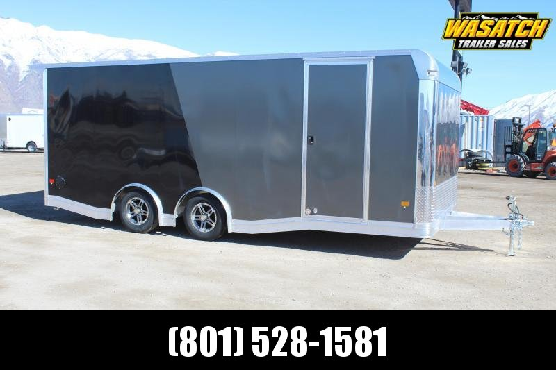 ALCOM 85x20 EzHauler Aluminum Car / Racing Trailer