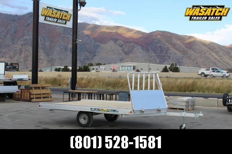 Aluma 8612 Aluminum Snowmobile Trailer