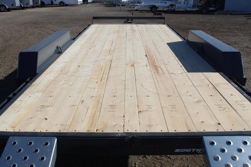 Southland Trailers 7x18 HD Tube Frame Flatbed Trailer