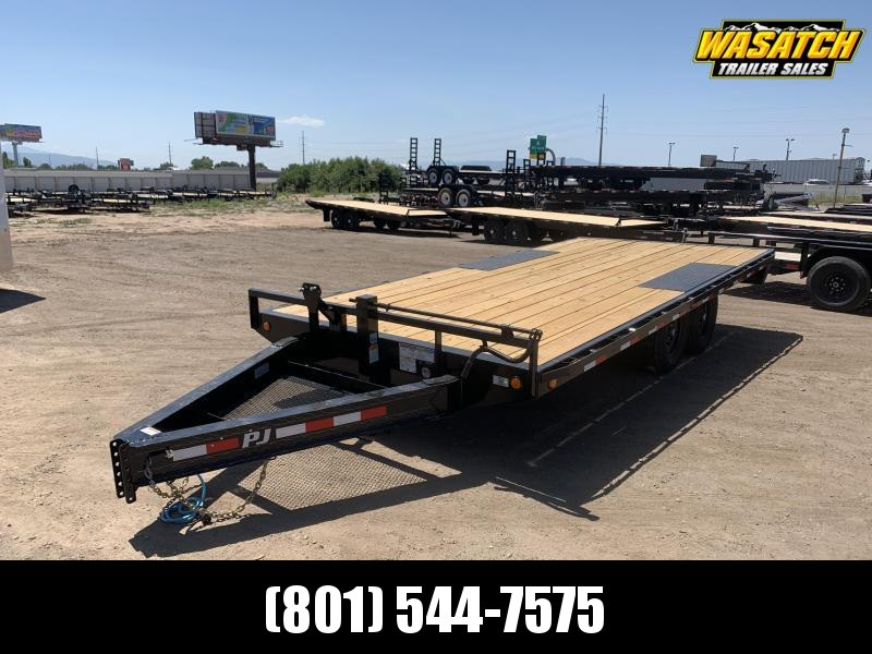 PJ 18' I-Beam Deckover (F8) Flatbed / Flatdeck / Equipment Trailer