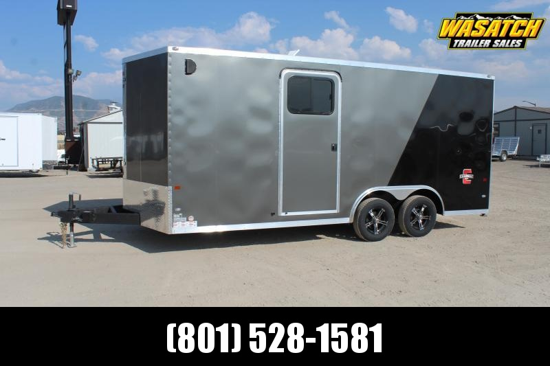 Charmac Trailers 85X18 Stealth Car / Racing Trailer