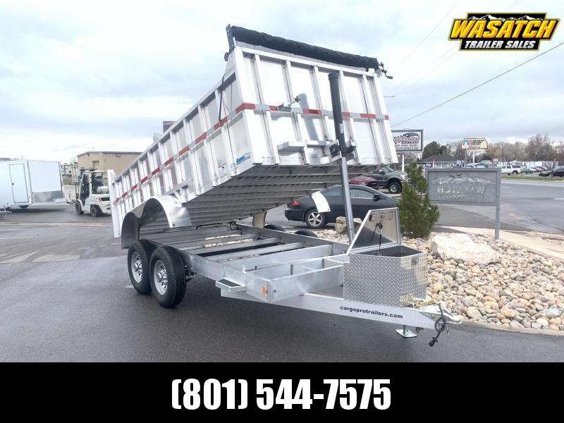 Mission - 7x14 - Aluminum - Dump Trailer