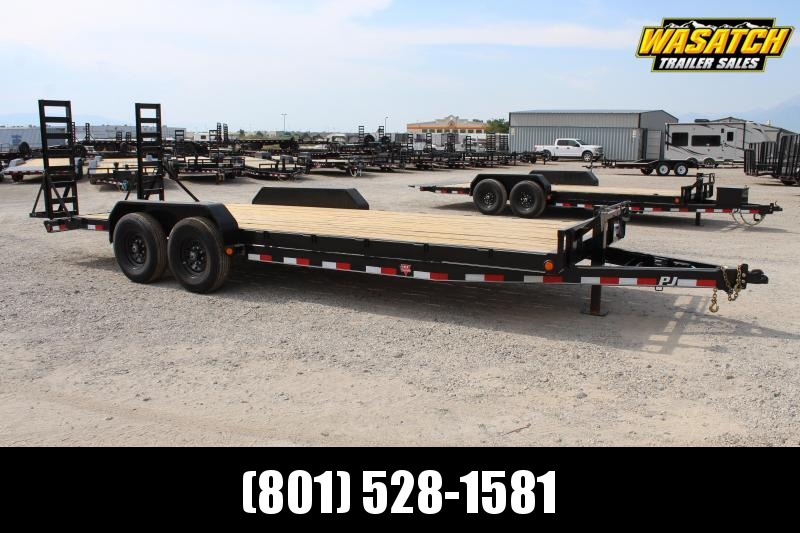 "PJ Trailers 7x22 6"" Channel (CC) Equipment Trailer"