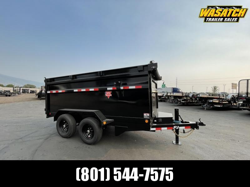 PJ - D3 - 6x12 - Tandem 5.2k - 4' Side - Dump