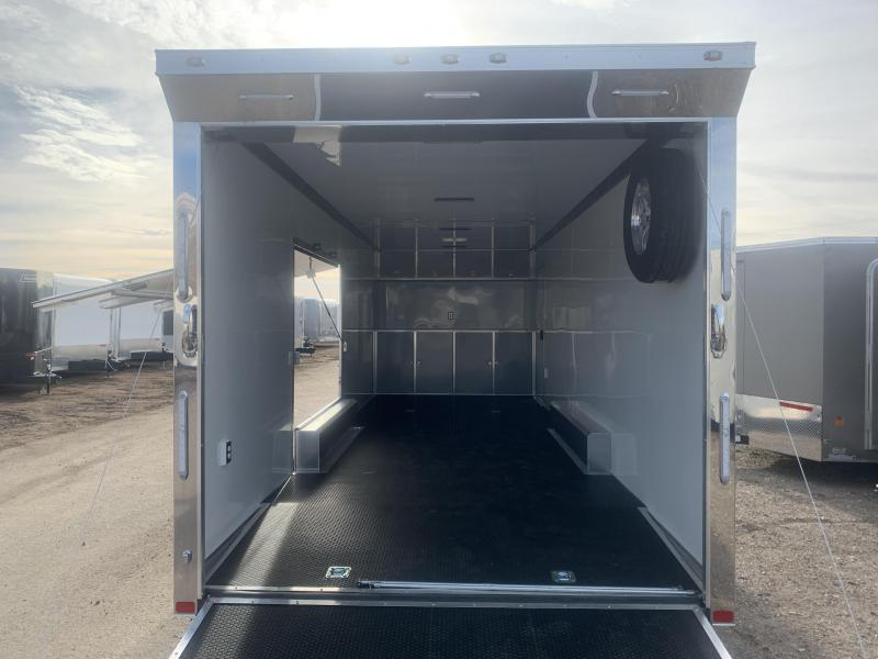 2020 ATC 26ft White Quest Car / Racing Trailer
