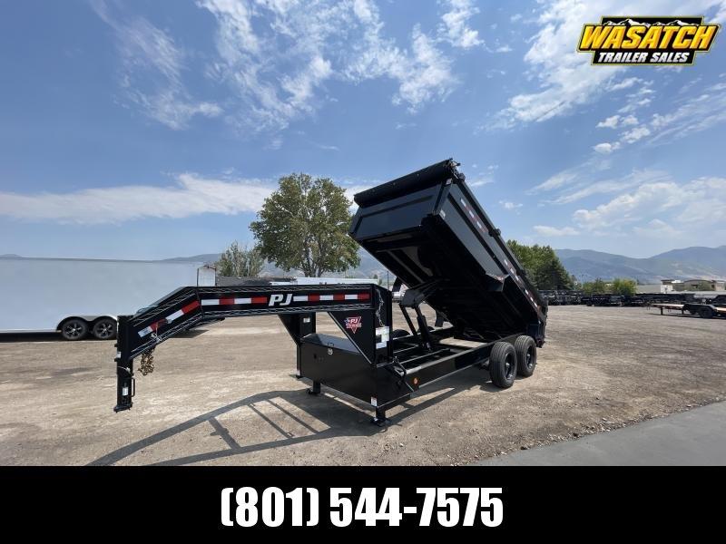 PJ - 7x16 - Gooseneck - Heavy-Duty (DE) - Dump Trailer
