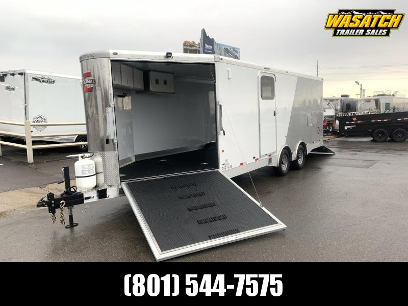 2020 Charmac Trailers 28 ft Elite Tri Sport Snowmobile Trailer