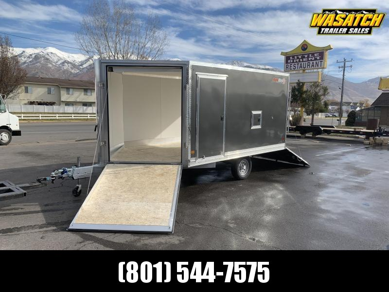 Snopro 8.5x12 Enclosed Snowmobile Trailer