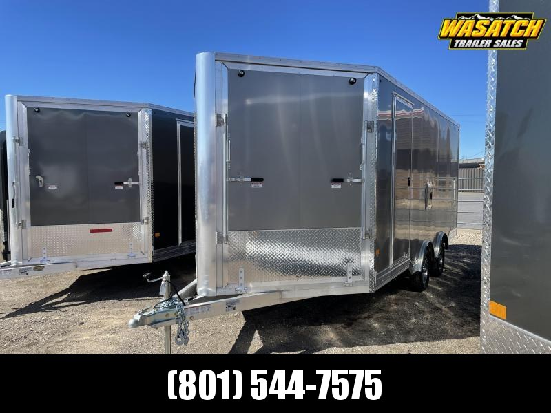 2021 CargoPro Trailers 22' Peak Value Aluminum Snowmobile Trailer