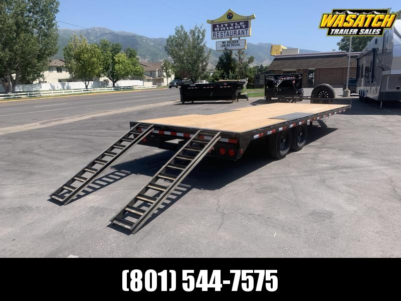 "PJ 22' - 8"" I-Beam Deckover (F8) Flatbed / Flatdeck / Equipment /"