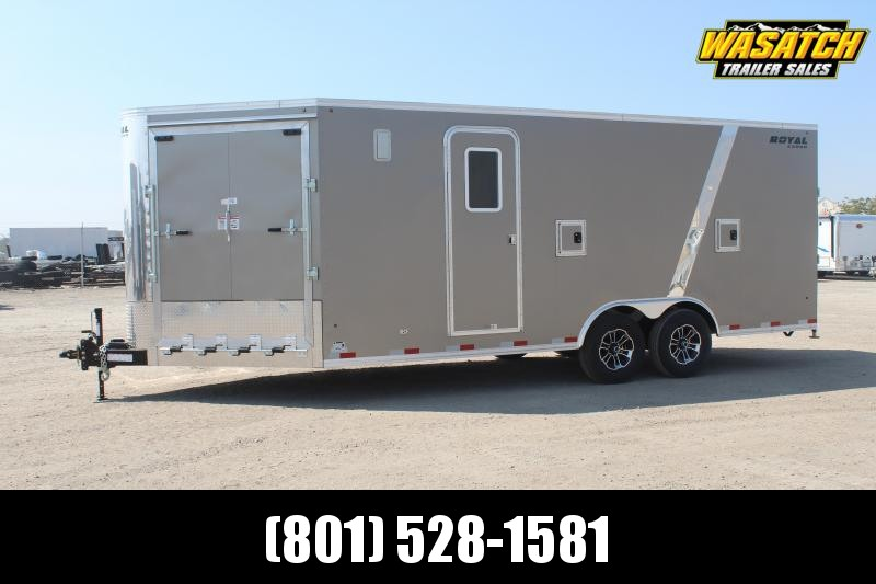Southland Trailers 85x24 Royal Snowmobile Trailer