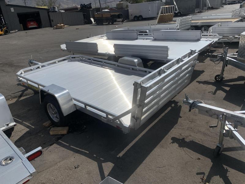 Aluma 6.5x12 (7712H) BiFold Aluminum Utility