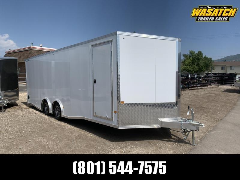 Alcom-Stealth 8.5x24 Aluminum Enclosed Cargo