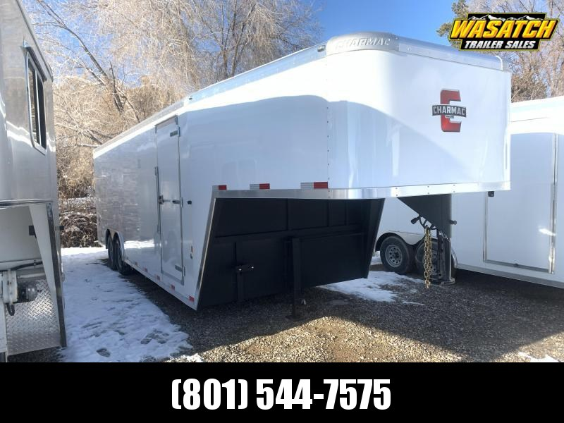 2020 Charmac Trailers 24 ft Gooseneck Commercial Duty Enclosed Cargo Trailer