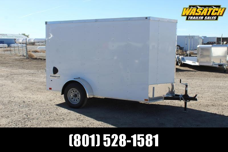 Haulmark 5x10 Passport Deluxe Enclosed Cargo Trailer