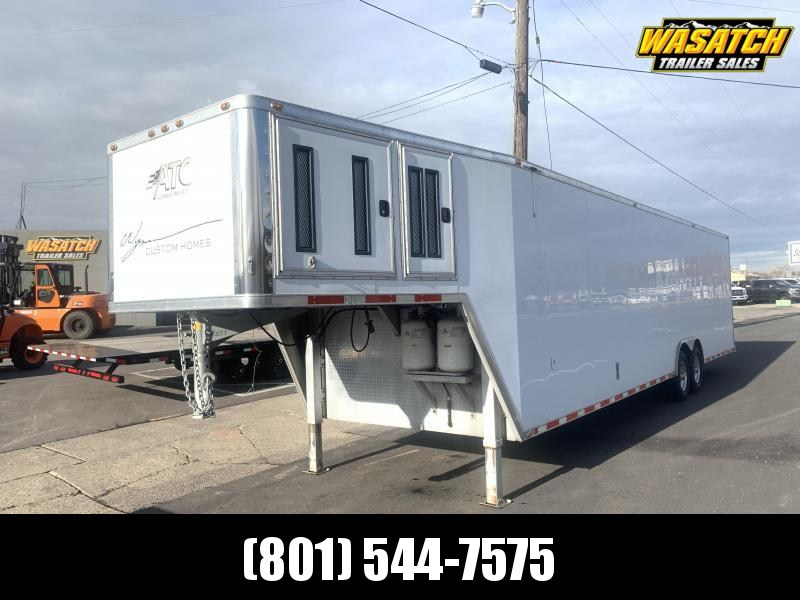 2007 ATC USED - 40 ft Gooseneck Car / Racing Trailer