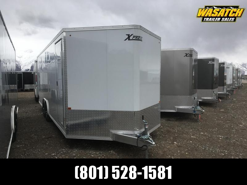 High Country 8x24 Express Enclosed Aluminum Trailer