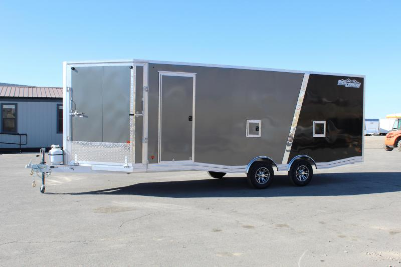 High Country 8.5x27 Peak Value Aluminum Snowmobile Trailer