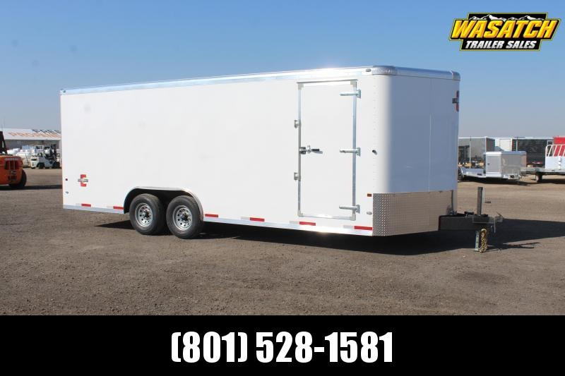 Charmac Trailers 85x22 Commercial Duty Enclosed Cargo Trailer