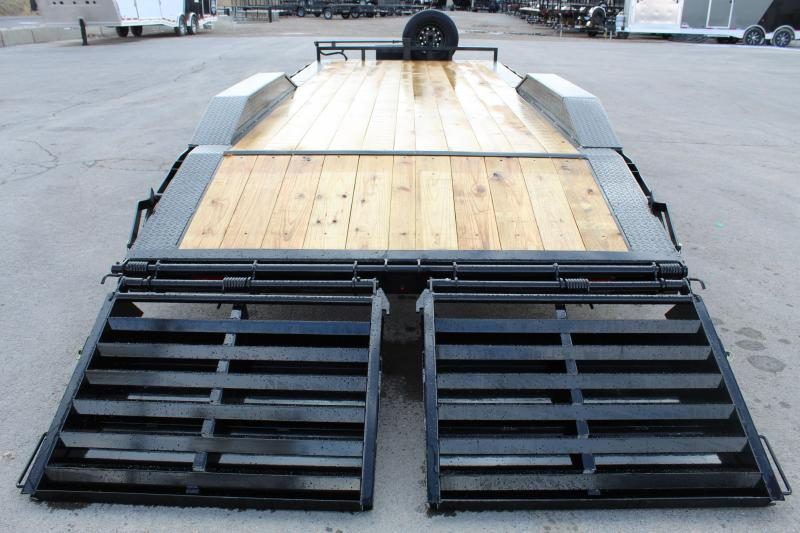 "PJ Trailers 8.5x22 6"" Channel Super-Wide (B6) Buggy Hauler"