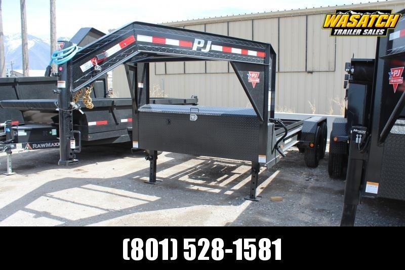 PJ Trailers 7x14 Roll-Off Dump (DR) Dump Trailer