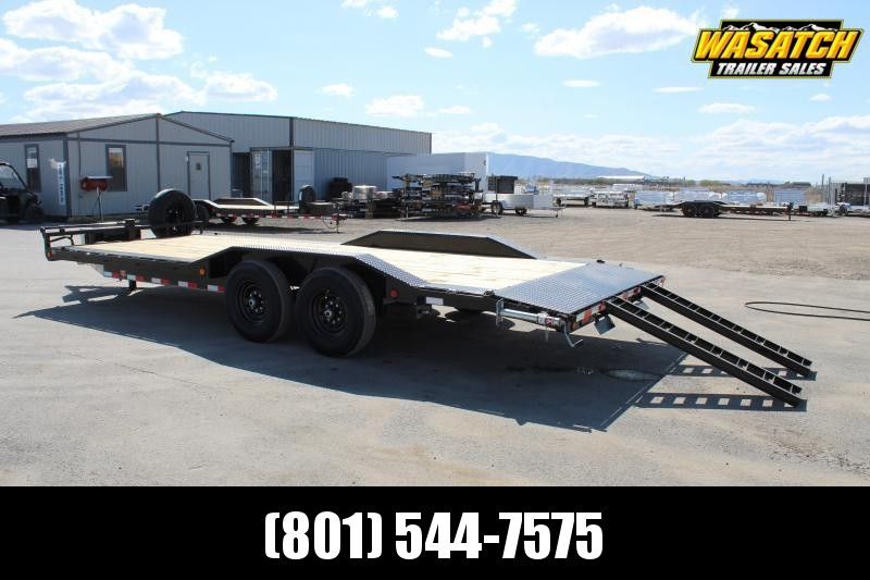 "PJ 7x22 6"" Channel Super-Wide (B6) Equipment Trailer"