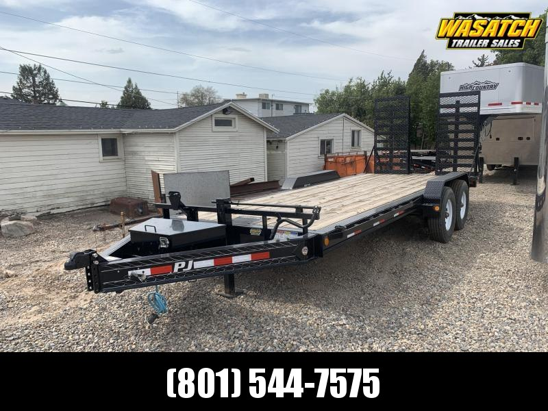 "PJ 20' - H4 - 8"" Pro-Beam Equipment / Flatbed / Flatdeck Trailer"
