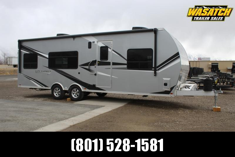 2021 ATC 85x28 Game Changer Aluminum Toy Hauler RV