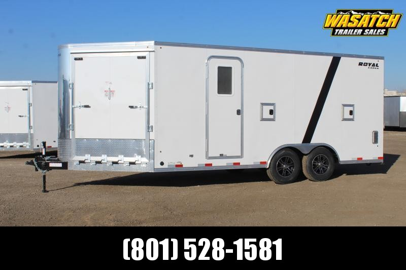 Southland Trailers 85x23 Royal Snowmobile Trailer