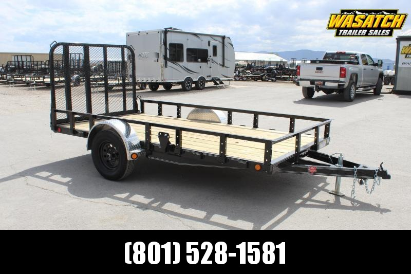 ***PJ Trailers 6.5x12 Single Axle Channel (U7) Utility Trailer***