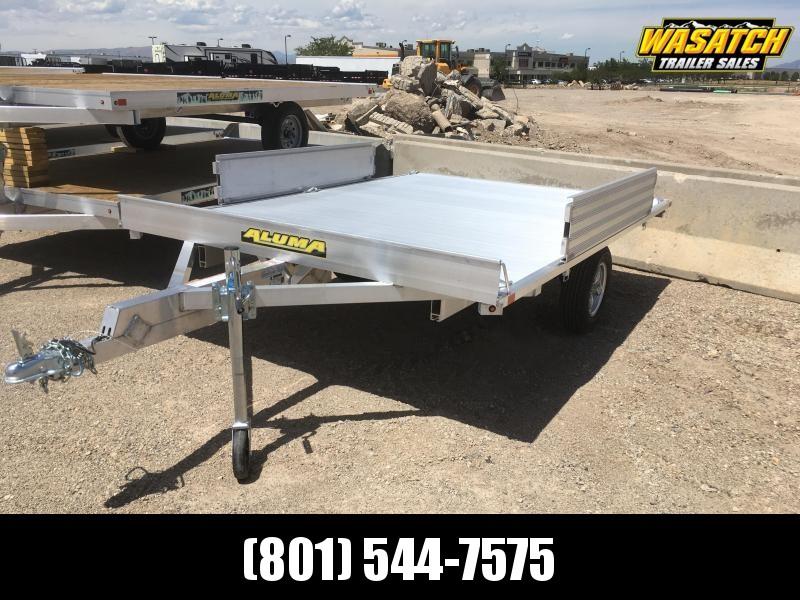 "Aluma 7'4""x10' (A8810) Aluminum ATV Trailer"