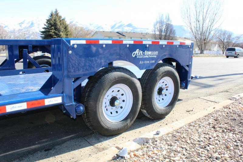 Air Tow 14' Ground-Level Loading Flatbed Trailer