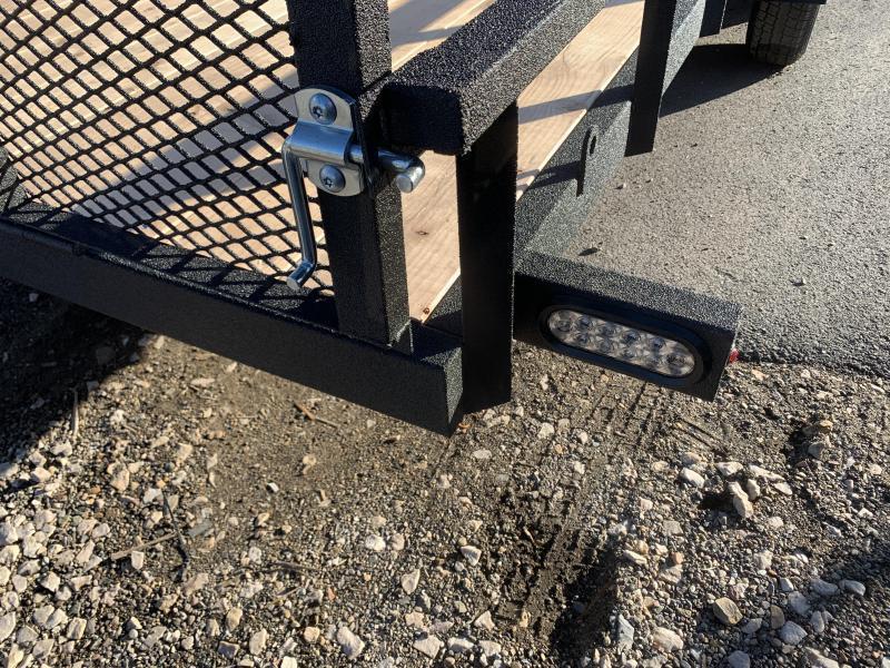 Charmac 7x24 Rugged Steel Utility for RZR / UTV / ATV