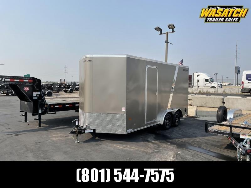 Southland - 7.5x16 - Tandem 3.5k - Ramp - Enclosed Cargo Trailer