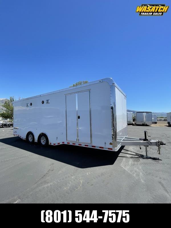 Haulmark 8.5x24 Edge Aluminum Enclosed Car Hauler / Cargo Trailer