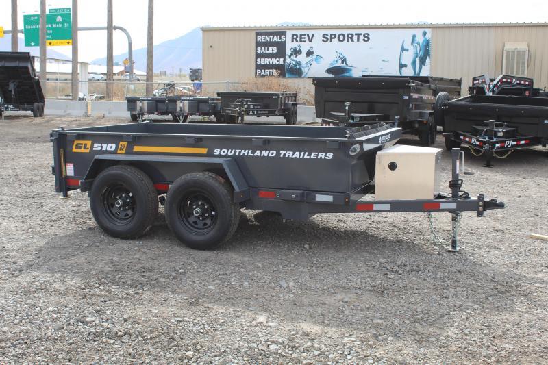 Southland Trailers 5x10 Utility 10k Dump Trailer